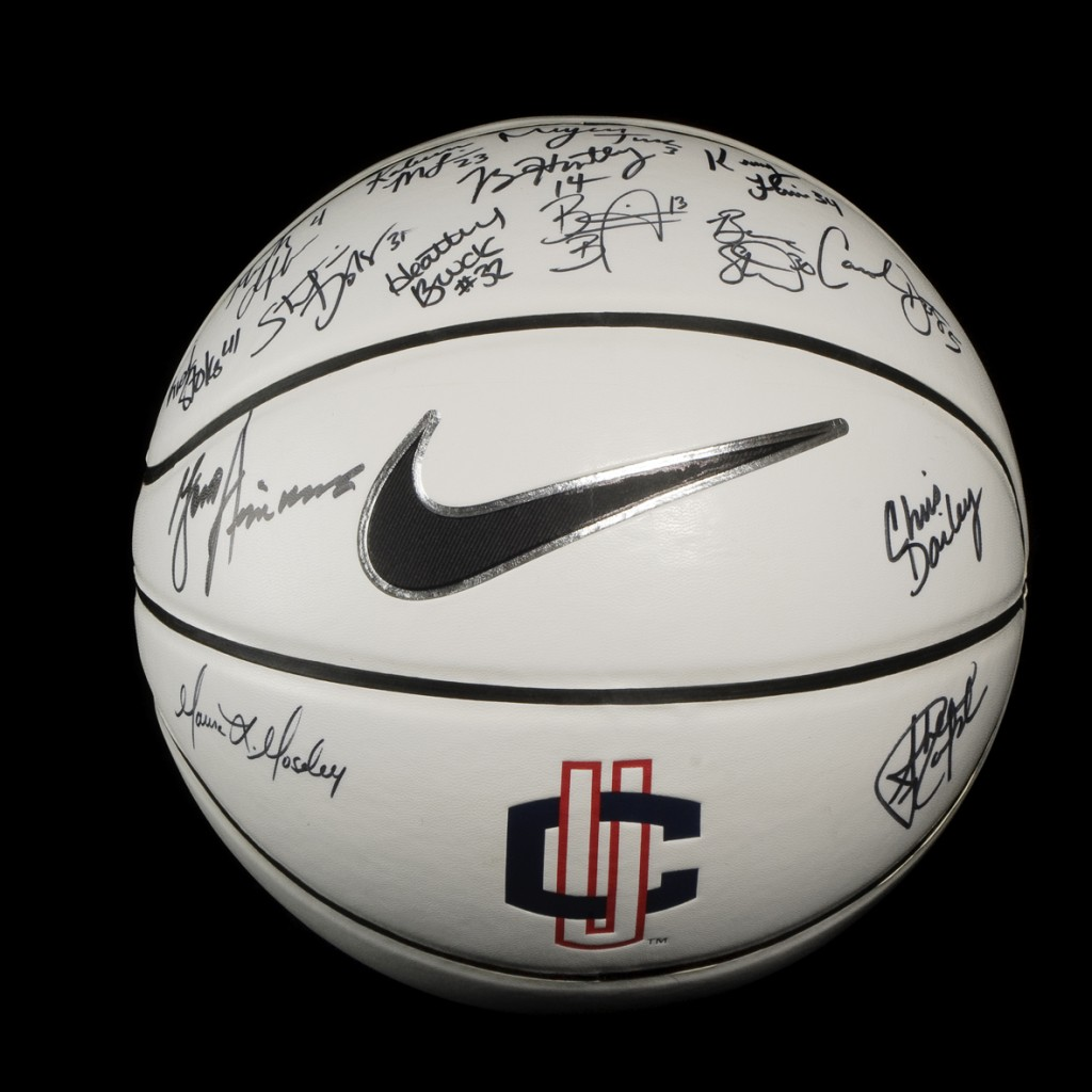 UConn Women's basketball auction item